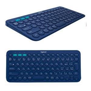 ロジクール K380BL(ブルー) マルチデバイス Bluetooth キーボード|eccurrent