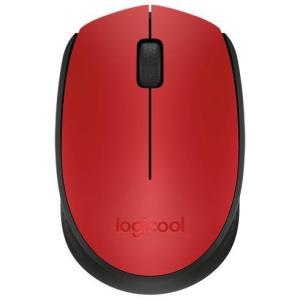 ロジクール M171RD(レッド) 2.4GHz 光学式マウス 3ボタン|eccurrent