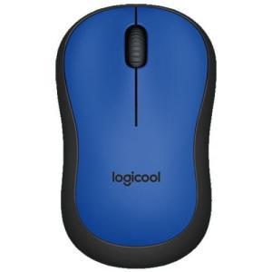 ロジクール M221BL(ブルー) USB ワイヤレス光学式マウス 無線(2.4GHz)接続 3ボタン|eccurrent