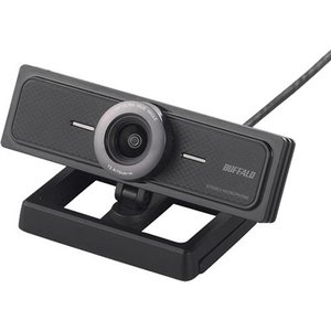 バッファロー BSW200MBK(ブラック) 200万画素WEBカメラ マイク内蔵|eccurrent