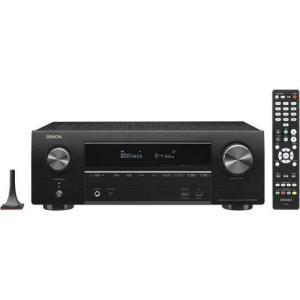 DENON AVR-X1600H-K(ブラック) 7.2ch AVサラウンドレシーバー
