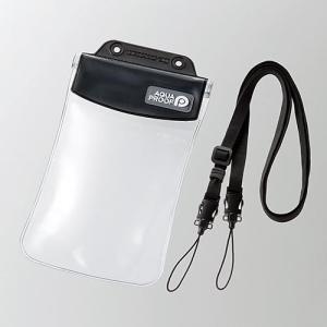 エレコム P-WPSAC01BK(ブラック) スマートフォン用防水・防塵ケース Lサイズ eccurrent