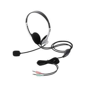 エレコム HS-HP22SV 両耳小型オーバーヘッドタイプ ヘッドセット eccurrent