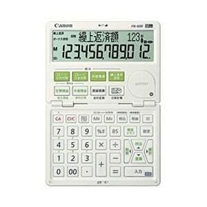 CANON FN-600-W 金融電卓 12桁|eccurrent