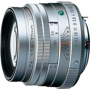 ペンタックス smc PENTAX-FA 77mmF1.8 Limited(シルバー)|eccurrent