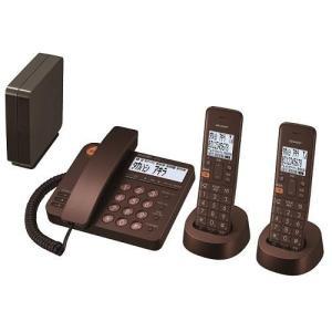シャープ JD-XG1CW-T(ブラウンメタリック) デジタルコードレス電話機 子機2台|eccurrent