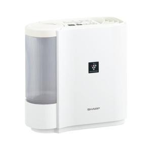 シャープ HV-J30-W(ホワイト系) 気化式加湿器 2.4L 290ml/h 木造5畳/プレハブ...