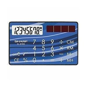 シャープ EL-878S-X 卓上電卓 8桁 カードタイプ|eccurrent