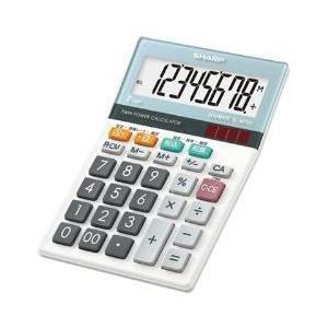 シャープ EL-M720-X 卓上電卓 8桁 eccurrent