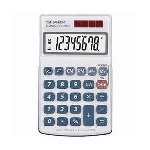 シャープ EL-240M 卓上電卓 8桁 eccurrent