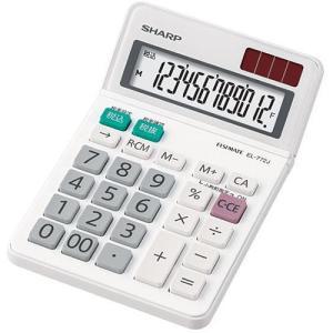 シャープ EL-772J-X 卓上電卓 12桁 eccurrent