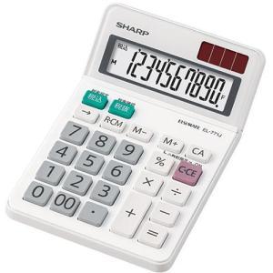 シャープ EL-771J-X 卓上電卓 10桁 eccurrent