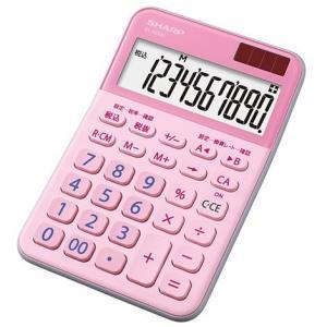 シャープ EL-M335-PX(ピンク) カラー・デザイン電卓 10桁 eccurrent