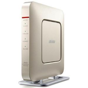バッファロー WSR-2533DHP-CG(シャンパンゴールド) 無線LANルーター IEEE802.11ac/n/a/g/b|eccurrent