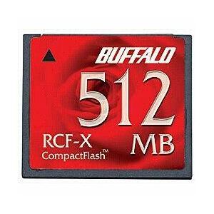 バッファロー RCF-X512MY コンパクトフラッシュカー...