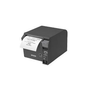 エプソン TM702US502(ダークグレイ) レシートプリンター 前面操作 58mm幅対応 eccurrent