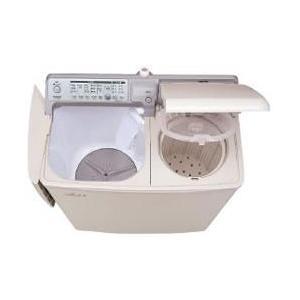 【設置+長期保証】日立 PA-T45K5-CP(パインベージュ) 二槽式洗濯機 洗濯4.5kg/脱水5.0kg|eccurrent