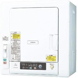【設置+長期保証】日立 DE-N60WV-W(ピュアホワイト) 衣類乾燥機 6kg eccurrent
