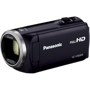 【長期保証付】パナソニック HC-V360MS-K(ブラック) デジタルハイビジョンビデオカメラ 16GB