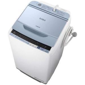 【設置+リサイクル+長期保証】日立 BW-V70B A(ブルー) ビートウオッシュ 全自動洗濯機 上開き 洗濯7kg eccurrent