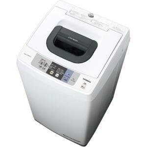 【設置+リサイクル+長期保証】日立 NW-50B-W(ピュアホワイト) 全自動洗濯機 上開き 洗濯5kg eccurrent