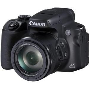 【長期保証付】CANON PowerShot SX70 HS ブラック|eccurrent