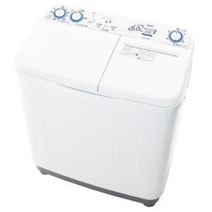 【設置+リサイクル+長期保証】アクア AQW-N60-W(ホワイト) 2槽式洗濯機 洗濯6kg/脱水...