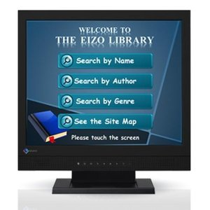 【長期保証付】EIZO FDS1721T-BK(ブラック) DuraVision 17型 タッチパネル液晶ディスプレイ eccurrent