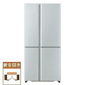 【標準設置料金込】【長期保証付】アクア AQR-TZ51K-S(サテンシルバー) 4ドア冷蔵庫 観音開き 512Lの画像