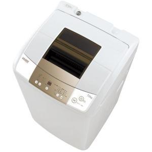 【設置+リサイクル】ハイアール JW-K70M-W(ホワイト) Live Series 全自動洗濯機 上開き 洗濯7kg/乾燥3kg eccurrent