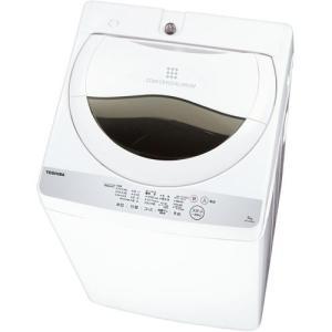 【設置+リサイクル】東芝 AW-5G6-W(グランホワイト) 全自動洗濯機 上開き 洗濯5kg/乾燥1.3kg eccurrent