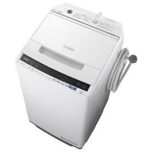 【設置】日立 BW-V70E-W(ホワイト) ビートウォッシュ 全自動洗濯機 上開き 洗濯7kg