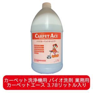 カーペット洗浄機専用バイオ洗剤 カーペットエース(Carpet Ace)3.78リットル|ececo