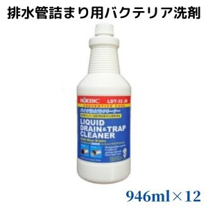 バクテリア排水管用洗剤 ROEBIC LDT-32JD 946ml 1ケース(12本入り)|ececo