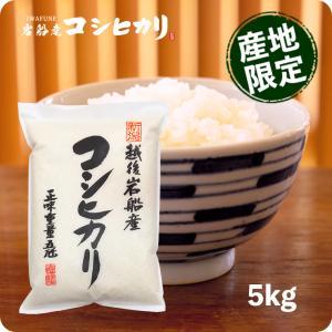 米 5kg コシヒカリ お米 新潟 岩船産こしひかり 5kg...