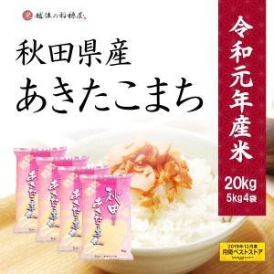 新米 あきたこまち 20kg - 米 お米 5kg x4袋 秋田県産 送料無料 令和元年産|echigo-inahoya