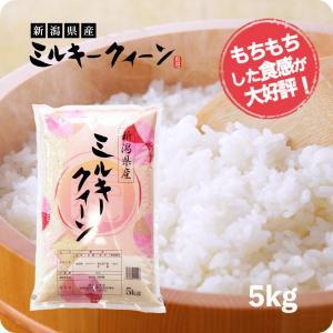 米 お米 5kg ミルキークイーン 新潟産 白米 5kg  ...