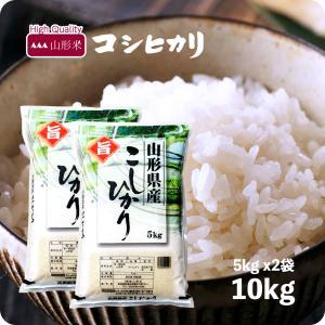米 10kg コシヒカリ 山形県産 お米 10kg 送料無料 令和2年産 精米 白米