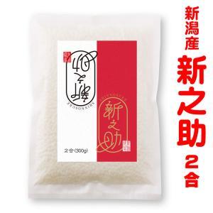米 新潟産 新之助 2合(300g)真空パック プチギフト 新潟の手土産|echigo-komesho