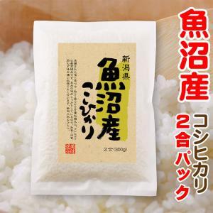 30年産 魚沼産コシヒカリ 2合パック(300g)プチギフトにも|echigo-komesho