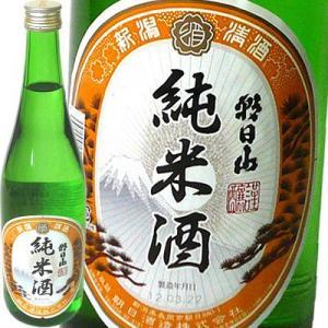 日本酒 朝日山 純米酒720ml 朝日酒造 echigo
