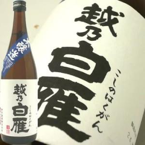 日本酒 越乃白雁  本醸造720ml 日本酒/新潟