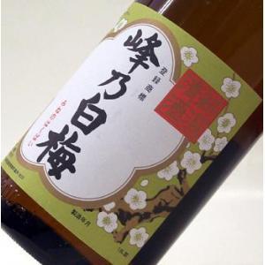 峰乃白梅  本醸造1800ml【日本酒/新潟】 echigo