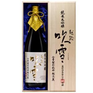 越路吹雪 純米大吟醸 越淡麗35 1.8L 高野酒造 日本酒 純米大吟醸|echigo