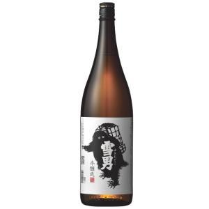 鶴齢  雪男 本醸造1.8L  青木酒造 日本酒|echigo