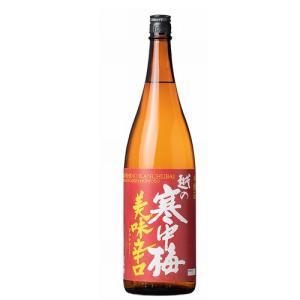 越の寒中梅 美味辛口1.8L echigo