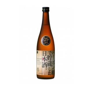 バーボン樽で貯蔵した日本酒 720ml 福顔酒造|echigo