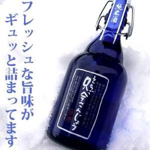えちご只今さんじょう しぼりたて生酒 特別純米酒500ml 福顔酒造|echigo