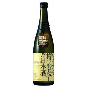 ウイスキー樽で貯蔵した日本酒 720ml 福顔酒造