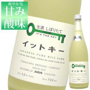 イットキー(It's the key)しぼりたて生酒 720ml 玉川酒造 ギフト バレンタイン|echigo